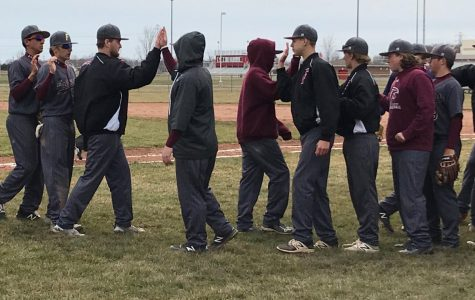 Hood and Falcons Split Weekend Doubleheader Against Anchor Bay
