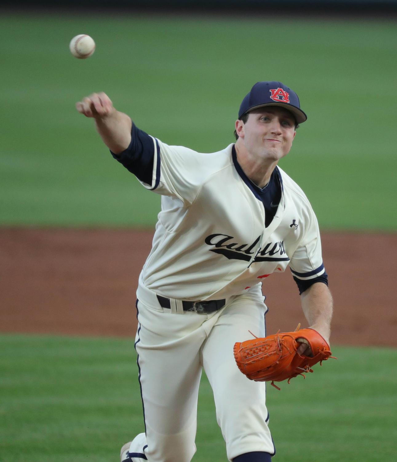 Casey Mize dominated in college, pitching for the Auburn Tigers, now he's in the Detroit Tigers farm system currently playing for the Erie SeaWolves.