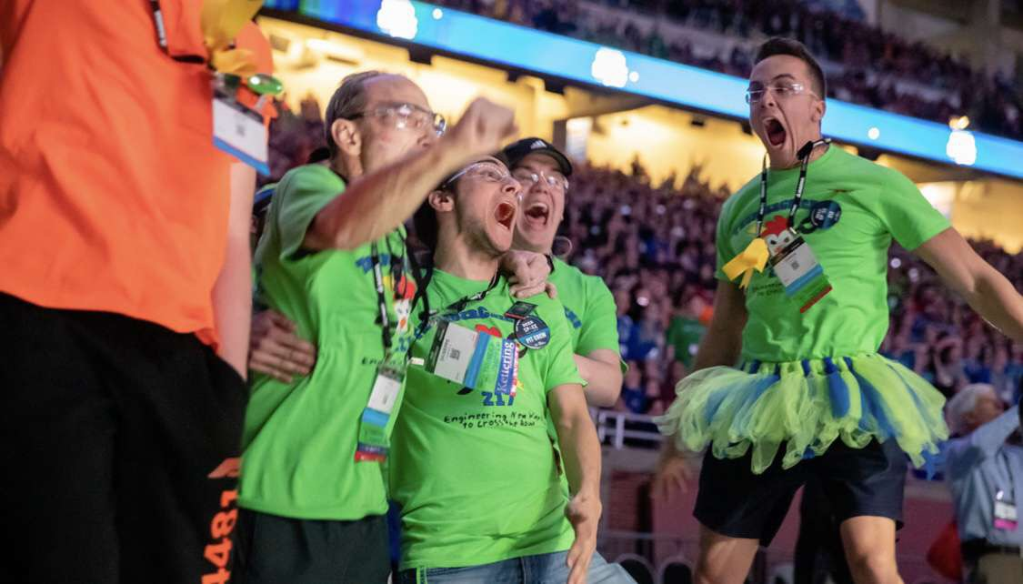 Thunderchickens become World Champions