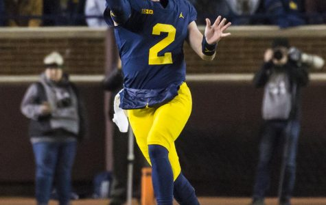 Michigan Quarterback, Shea Patterson, played a huge part in the victory against rivals Michigan State.